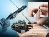 O fio de aço de cabo de fibra óptica