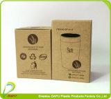 Abbaubare trinkende Bioplastikflasche