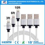 Câble de foudre d'USB pour iPhone5 iPhone6 iPhone7