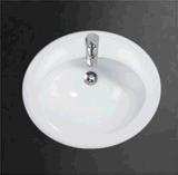 Contro stanza da bagno della ciotola di lavata del tondo superiore degli articoli sanitari caldi di vendita sopra il contro bacino
