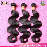 Unprocessed 5A Extension de cheveux brésilienne 100% de tissus de cheveux humains (QB-BVRH-BW)