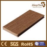 ベランダ屋外WPCの木製のプラスチック合成のDeckingは、はだしで床を張ることができる
