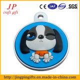 Modifica di cane su ordinazione del metallo di marchio del PVC di vendita calda