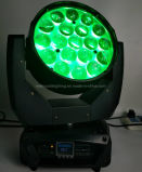 Tête mobile aura effet lumière LED pour éclairage de DJ / Disco