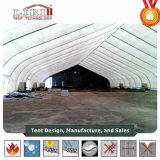 Grande tenda 20X20m TFS Curve tenda para depósito de helicóptero privado