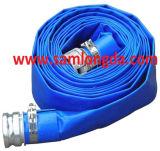 """3/4 """" - 12 """" boyau bleu de PVC Layflat"""