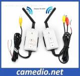 2.4GHz Wireless 200m de portée chariot de la caméra vidéo émetteur et récepteur