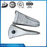 Denti caldi diResistenza della benna di pezzo fucinato dell'acciaio legato dell'escavatore su ordine