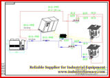 Melting Steelのための350kg Steel Melting Induction Furnace