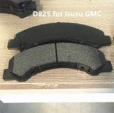 D825 Kit de plaquettes de frein pour GMC Chevrolet Nissans Isuzucar Mazda Toyota Semi-Metal 8971686330 d'essieu avant la plaquette de frein