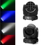 DMX512 12X10W RGBW 4in1 beweglicher Kopf der Träger-Wäsche-LED