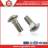 El tornillo hexagonal de acero inoxidable 304 DIN933 con la DIN934 Tuerca / SS316 el tornillo y tuerca