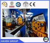 Máquina de perfuração do ferro Q35y-15 e de corte de trabalho combinada hidráulica