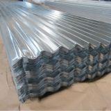 Cor laminada a alta temperatura chapa de aço ondulada galvanizada revestida na bobina