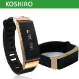 Metal Shell Bluetooth Smart Watch Bracelet