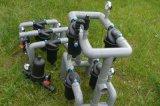 Tipo de golpe de efecto invernadero de jardín riego agrícola de agua de la industria del filtro de disco/sistema de filtración