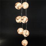 La mini stringa giapponese cinese della lampada LED delle lanterne di carta illumina a pile