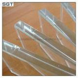 verre trempé de 10mm pour clôturer la glace en verre renforcée de syndicat de prix ferme