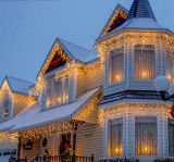 Luz decorativa da decoração do festival do Natal dos sincelos do partido do diodo emissor de luz