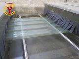 Efectivos de la línea de producción de maquinaria de fibra de vidrio.