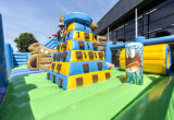 Bateau Pirate Diapositive gonflable Combo/Parc d'Attractions gonflables pour les enfants CO2901