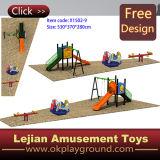 高品質のセリウムの品質(X1502-9)の屋外の子供の運動場