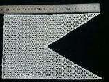 Applique X012 Neckline ви-образност ворота шнурка вязания крючком отверстии белый