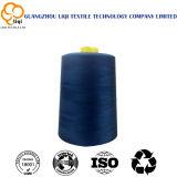 Fils de polyester 100% filés pour la couture des vêtements et des sacs