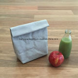 Sacchetto impaccante del pranzo del prodotto di Eco del sacco di carta della carta da parati lavabile