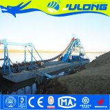 Земснаряд золота ковшовой цепи качества Julong самый лучший для добычи золота