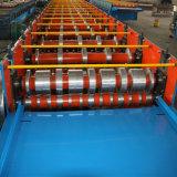 Carrelage galvanisé par machine de construction de construction faisant la machine de forme de roulis de Decking de machine