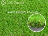 erba artificiale d'abbellimento di 40mm per ricreazione/svago con i sei toni (SUNQ-HY00172-2)