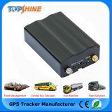 Os valores de Nível de Gasolina de detecção de apoio o relatório de combustível Rastreador GPS