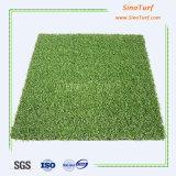 Grama artificial do golfe, relvado sintético falsificado do verde de colocação, gramado artificial