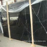 Black Marquina Nero Marquina Laje com mármore/Tile/Step/condutor