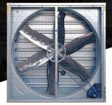 El cono del ventilador de escape para el ganado y aves de corral de la casa