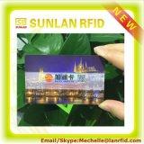 Cartão de venda superior do cartão 125kHz RFID do baixo custo RFID dos produtos com a microplaqueta Tk4100/Em4200/Em4305/T5577