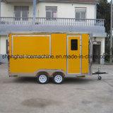 De mobiele Vrachtwagen van de Verkoop van het Voedsel voor Verkoop, de Kar van de Koffie jy-B25
