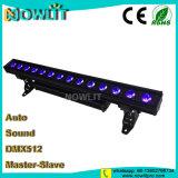 14pcs RGB de 30W 3en1 bañador de pared LED de exterior