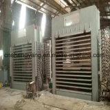 Traitement de la machine chaude de presse de machines pour le panneau de particules