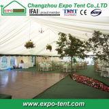 Weißes AluminiumHochzeitsfest-Zelt mit Futtern