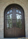 二重パネルによって絶縁されるガラスが付いている贅沢な二重鉄の出入口