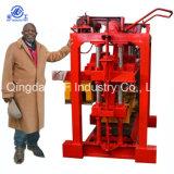 Konkreter Vollziegel-Block der manuellen Schwingung-Qt4-40, der Maschine herstellt