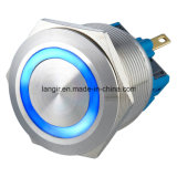 25mm de acero inoxidable anillo iluminado indicador (IP65 impermeable)