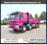 중국 덤프 트럭 화물은 트랙터 트럭을 나른다