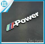 Etiqueta de encargo del cromo, insignia del coche del cromo, emblema de encargo del cromo