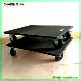 Grande taille noir pour charge lourde, déplaçant Skate Dolly pour le transport