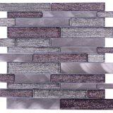 ¡2017 nuevo! Mosaico de la mezcla del vidrio y del metal de Gorgeousness