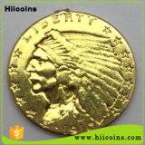 Venta directa de fábrica Carrom mayorista Monedas Monedas decorativos personalizados y monedas de oro 24k