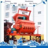 Mezclador de cemento concreto Js500 para el bloque que hace la máquina